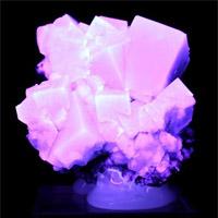 Флюорит, ультрафиолет