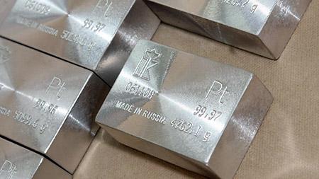 Платина, чистый металл