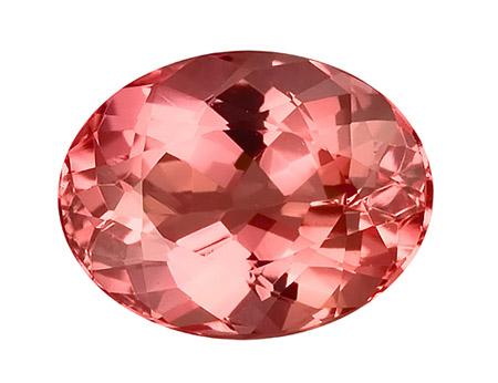 Розовый императорский топаз