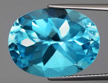 Sky blue топаз Стандартная качественная огранка топаза Посредственное  качество огранки 735e14ef63c