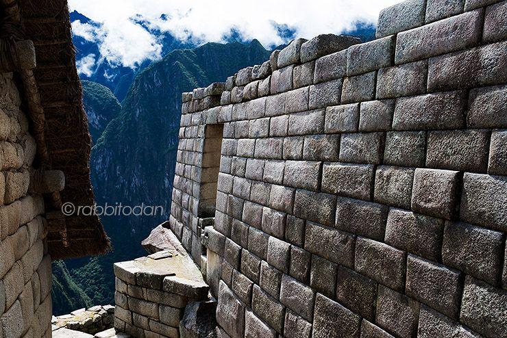 Фото стен строений Мачу-Пикчу