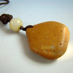 желтый камень нефрит