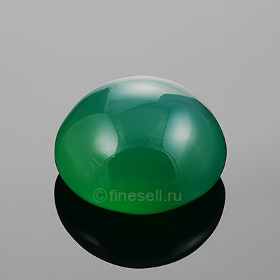 Loose Natural Green Agate gemstone