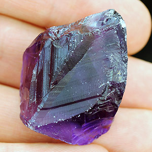 Natural Amethyst crystal 99.50 Ct