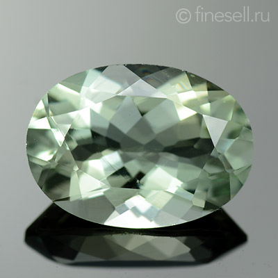 Loose Natural Prasiolite gemstone 4.94 Ct