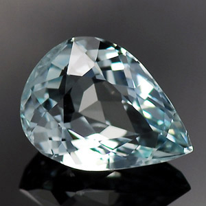 Natural Aquamarine gemstone 1.44 Ct