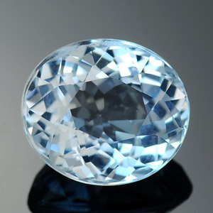 Natural brazilian aquamarine 2.54 Ct