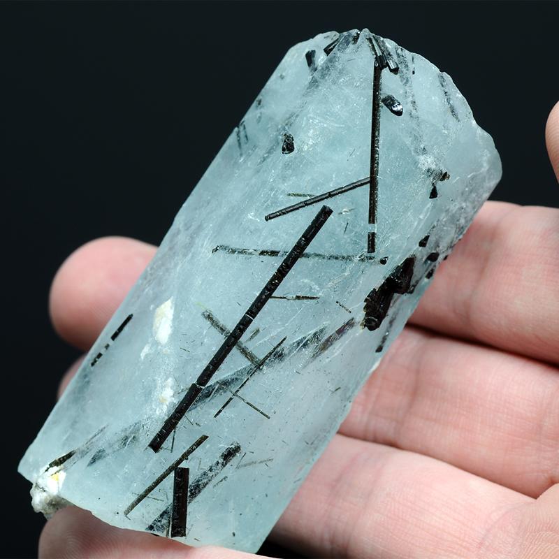 Натуральный Аквамарин - коллекционный кристалл