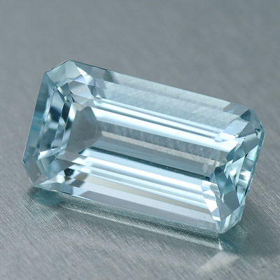 Natural Aquamarine octagon shaped