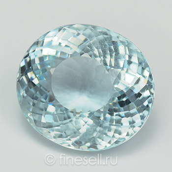 Natual sky blue aquamarine - 5.92 Ct.