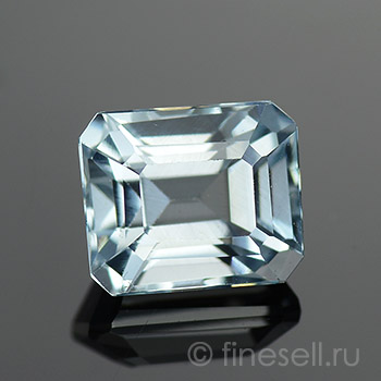Натуральный Light sky blue Аквамарин - 1.57 Ct.