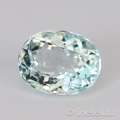 Natural Aquamarine gemstone 2.80 Ct