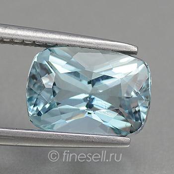 Натуральный голубой Аквамарин - 1.70 Ct.