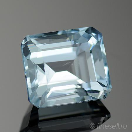 Натуральный светло-голубой Аквамарин - 3.28 Ct.
