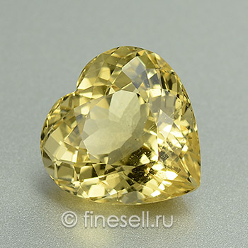 Natural Yellow heliodor Beryl 5.46 Ct