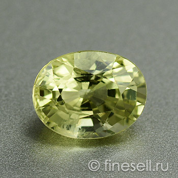 Natural Chrysoberyl faceted gemstone