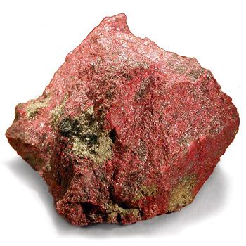 камень киноварь