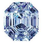Шикарный бесцветный алмаз чистой воды