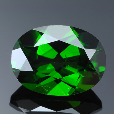 Natural Chrome Diopside Loose Gemstone