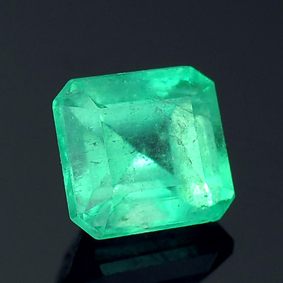 Natural Colombian Emerald - octagon