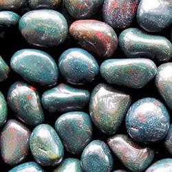 Гелиотроп - полурованные камушки
