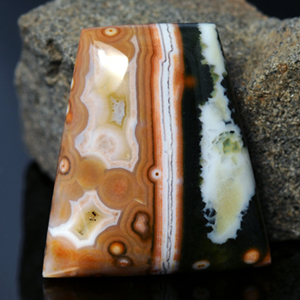 Loose Natural Ocean Jasper cabochon 36.00 Ct