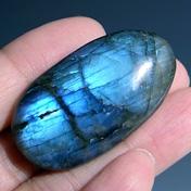Лабрадор камень (лабрадорит) в виде кабошона