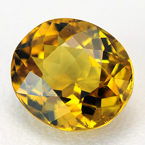Natural Greenish-yellow loose Mali garnet 1.02 Ct
