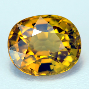Loose Natural Golden-yellow Mali Garnet 1.32 Ct