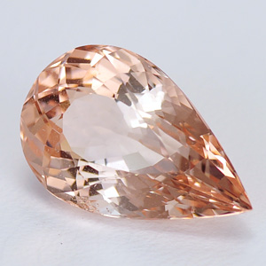 Fine quality natural morganite gemstone for setting 4.82 Ct