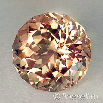 Dazzling Loose Natural Morganite Gemstone, clean perfect cut