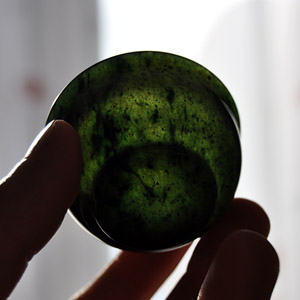 Natural Nephrite Cup