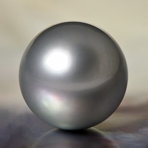 Genuine Tahitian Cultured Pearl Round Shaped