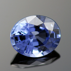 Natural Blue Ceylon Sapphire Oval shaped gemstone 0.71 Ct