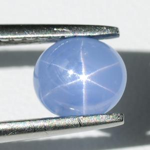 Натуральный звёздчатый сапфир 1.00 Ct