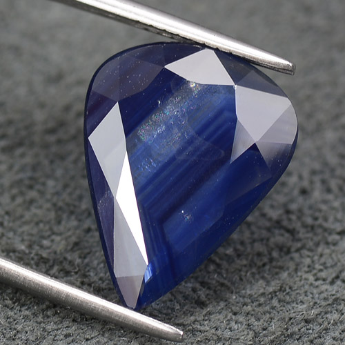 Natural Blue Sapphire Big Size Stone Faceted