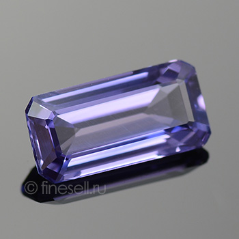 Natural Purplish-blue color octagon faceted Sapphire