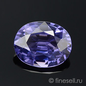 Natural Color Change Blue to Purple Sapphire