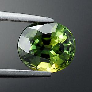 Натуральный Зеленый сапфир