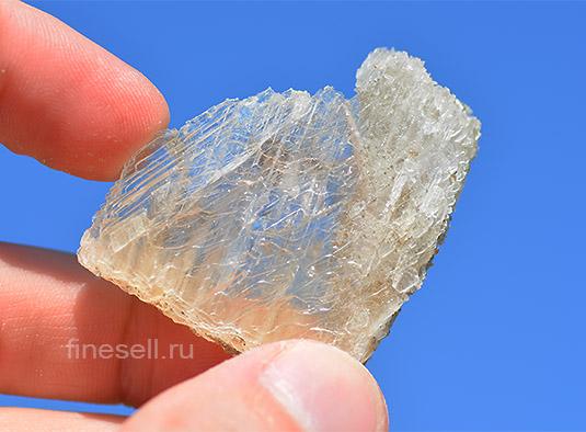 Как сделать камень прозрачным