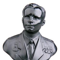 Шунгит, бюст Гагарина