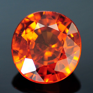 Bright Orange Color Natural Cushion Spessartine Garnet 1.36 Ct