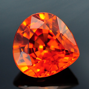 Top Orange Color Natural Spessartine Loose Gem 1.54 Ct