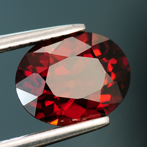 Loose Natural Oval Cut Spessartine Garnet 1.97 Ct