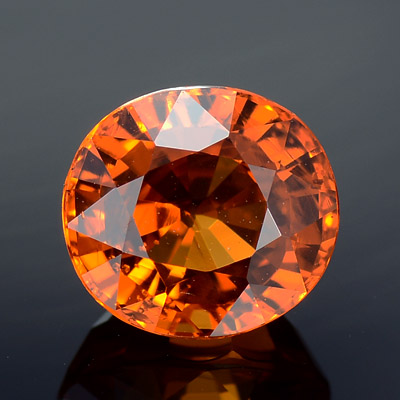 Natural Spessartine garnet loose gemstone