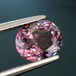 Natural Oval Cut Light Pink Loose Spinel 1.16 Ct