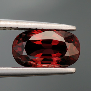 Natural Red Burma Spinel Oval Cut 1.71 Ct