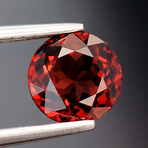 Top Red Fine Quality Natural Spinel Round Cut Gem 1.17 Ct