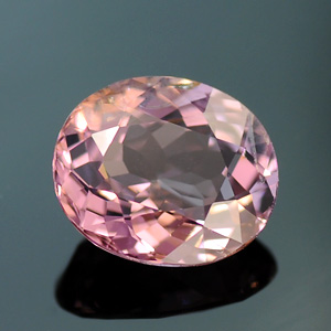 Natural Pink Spinel Oval Cut Gemstone 1.38 Ct