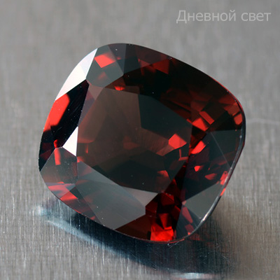 Brownish-red Great Quality Natural Spinel Antique Cut Gem 2.87 Ct